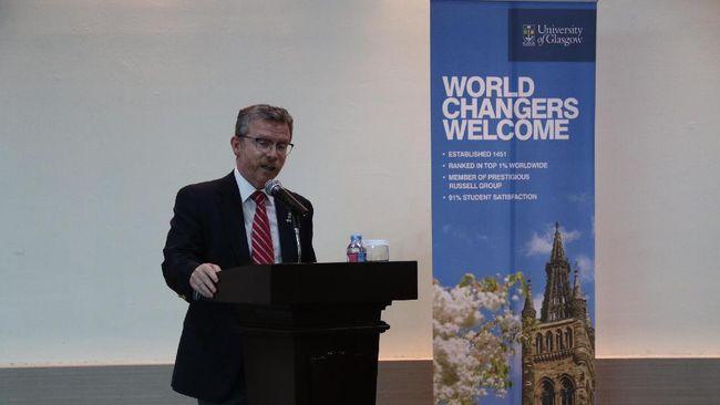 Setelah menjalin kerja sama dengan HAN University of Applied Science, kini President University juga mengikat kerja sama dengan Universitas Glasgow.