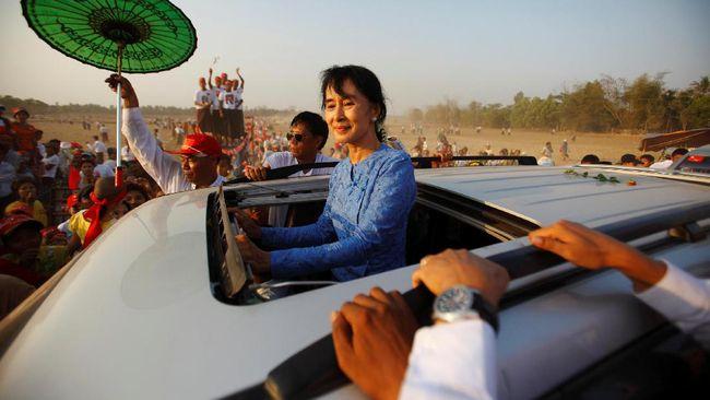 Suu Kyi Akan Kunjungi China di Tengah Krisis Rohingya