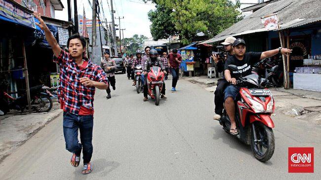Pengamanan ketat dilakukan karena pada kampanye putaran pertama, Djarot sempat diadang oleh sekelompok orang di Kembangan Utara.