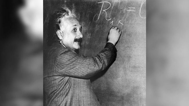 An undated portrait of German-born Swiss-US physicist Albert Einstein (1879-1955), author of theory of relativity, awarded the Nobel Prize for Physics in 1921. / AFP PHOTO / INP