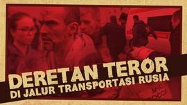 Deretan Teror di Jalur Transportasi Rusia