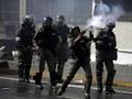 Rakyat Gelar Demo Akbar, Tentara Venezuela Siap 'Perang'