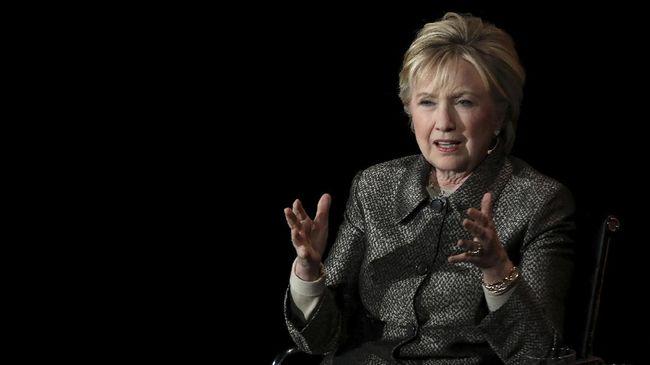 Mantan Menlu dan calon presiden AS, Hillary Clinton, tidak akan maju dalam Pilpres 2020. Namun, dia akan tetap berkecimpung di politik.