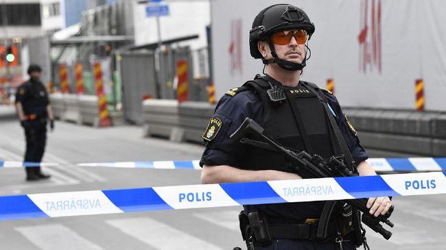Polisi Swedia Tembak Lelaki Klaim Bawa Bom di Stasiun