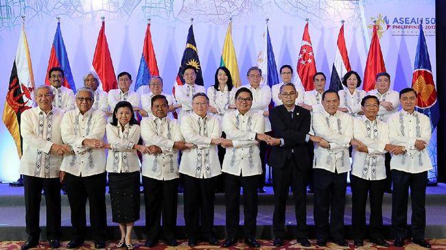 Pemimpin negara-negara di kawasan ASEAM) menegaskan kembali komitmen terhadap sistem perdagangan bebas multilateral dan kerja sama internasional.