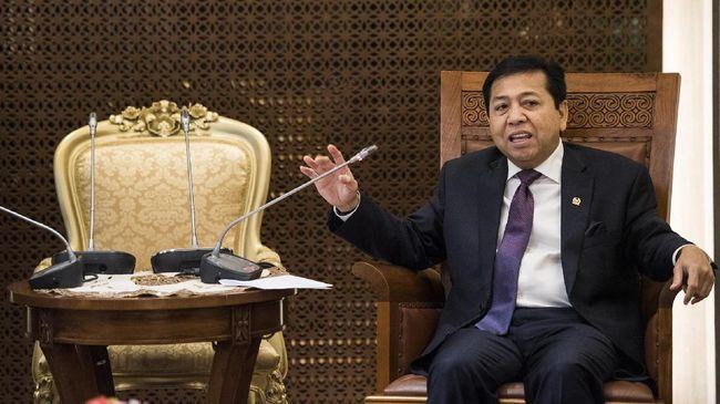 ICW Desak Setya Novanto Mundur dari Kursi Ketua DPR