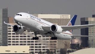 United Airlines Rugi Rp23,4 Triliun karena Corona