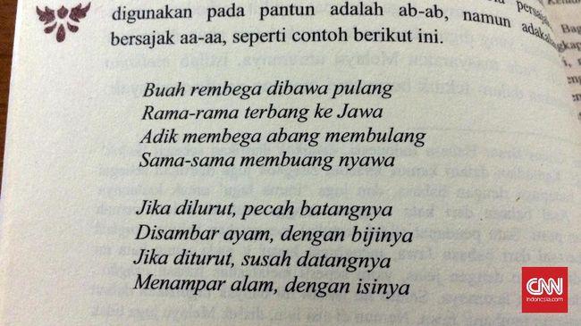 Pantun sebagai budaya lama rumpun Melayu resmi ditetapkan sebagai warisan takbenda bersama Indonesia dan Malaysia dalam daftar UNESCO.