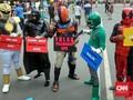 Dengan Memakai Sandal, Deadpool Turun Tangan Lindungi KPK