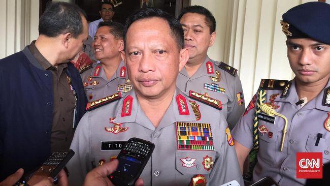 Kapolri Jenderal Tito Karnavian, mengungkapkan Negeri kita tercinta ini punya potensi menjadi negara adidaya kelima di dunia.