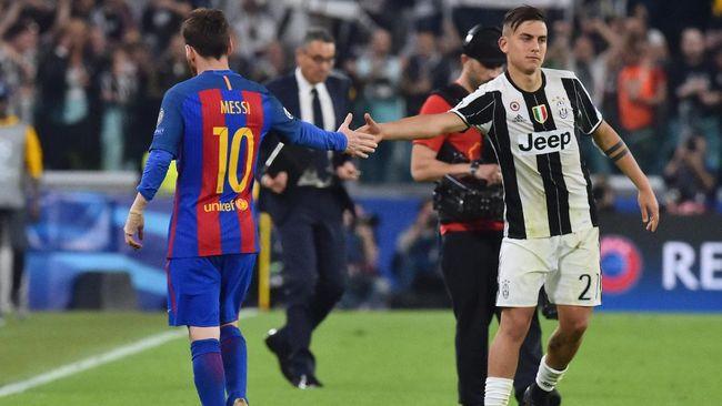 Direktur Olahraga Juventus Fabio Paratici mengklaim hanya bintang Barcelona, Lionel Messi, yang bisa menggantikan peran Paulo Dybala.