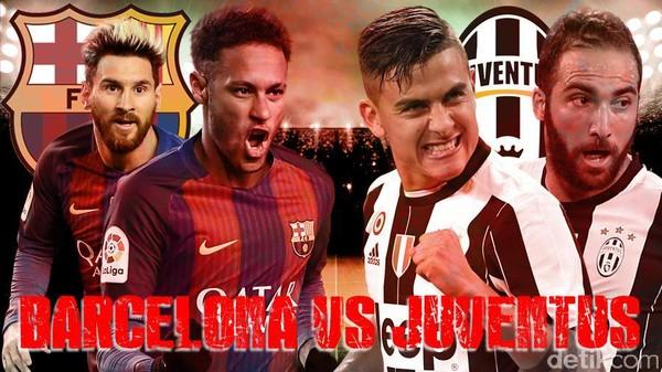 Barcelona Didepak Juventus