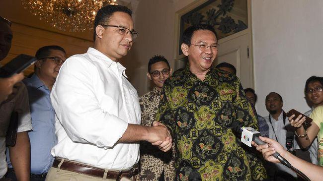Eks Gubernur DKI Ahok meminta untuk menanyakan perihal penghapusan normalisasi sungai oleh Gubernur DKI Anies Baswedan ke Menteri PUPR.
