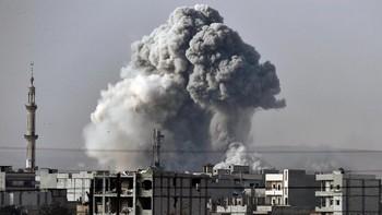 10 Roket Hantam Pangkalan Pasukan AS di Irak