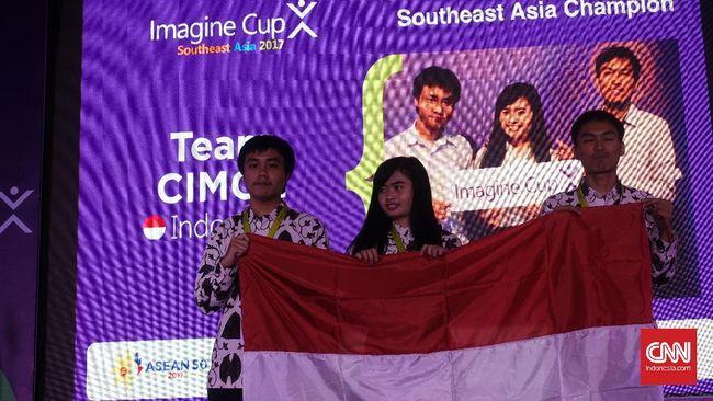Tim Cimol yang menciptakan perangkat lunak pendeteksi informasi hoax, Hoax Analyzer terpilih sebagai pemenang mengungguli tim dari Singapura dan Filipina.
