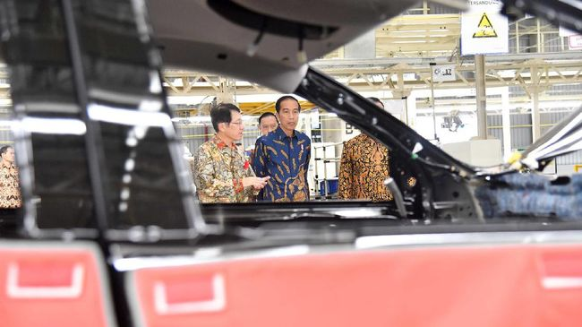 Menurut Kementerian Perindustrian, proyek 'Putar Kunci' bisa mendorong kemandirian teknologi otomotif dalam negeri.