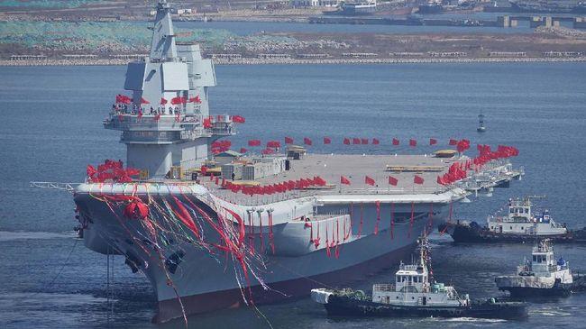Kapal induk pertama buatan China ini adalah batu loncatan sebelum mendekati teknologi kapal induk milik Amerika Serikat.