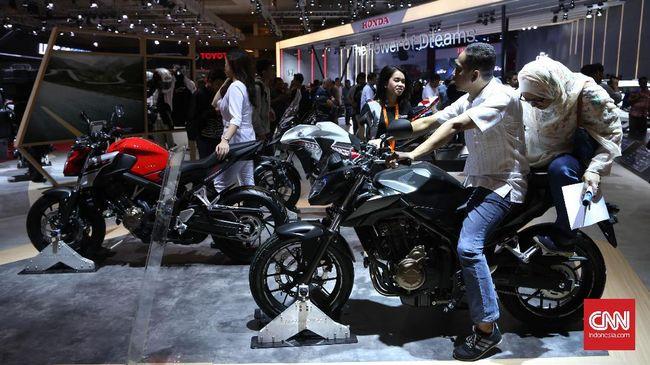 Sejumlah produsen motor menawarkan program menarik di pameran otomotif GIIAS 2018.