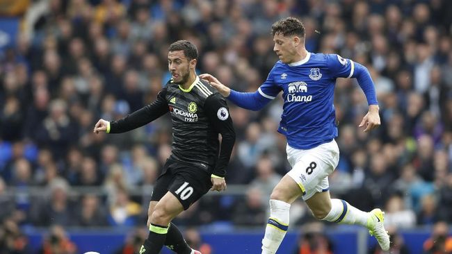 Babak I: Everton vs Chelsea Sama Kuat Tanpa Gol