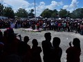 Seribuan Warga Mimika Gelar Aksi Protes di Kantor DPRD