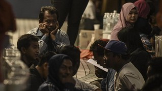 Polisi Patroli TKI Aceh Ilegal Balik dari Malaysia