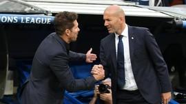 Atletico vs Real Madrid, Duel Ketat Simeone dan Zidane