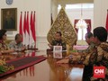 Empat Pimpinan KPK Temui Jokowi