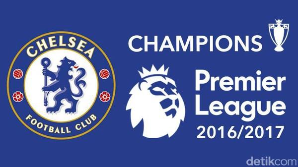 Chelsea Juara Premier League 2016/17