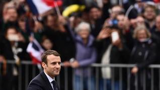 Presiden Prancis Desak Israel Urungkan Niat Caplok Tepi Barat