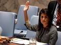 Veto AS Gagalkan Resolusi DK PBB soal Yerusalem
