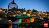 Meniru perkampungan wisata di Rio de Jeneiro, Brazil, pemerintah daerah Semarang berhasil menyulap Kampung Wonosari sebagai objek wisata baru di Jawa Tengah.