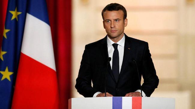 Macron Klaim Yakinkan Trump Terlibat Jangka Panjang di Suriah