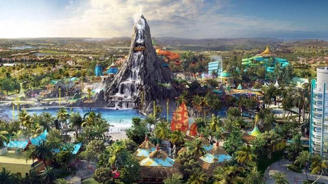 >Sambut Musim Panas, Taman Hiburan di Amerika Siap Buka Juni