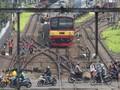 Rel Kereta Cilebut-Bogor Patah, Perjalanan KRL Terganggu