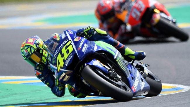 Pebalap Movistar Yamaha Valentino Rossi menganggap Marc Marquez sengaja menabraknya pada balapan MotoGP Argentina di Sirkuit Termas de Rio Hondo.