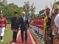 Sambut Raja Swedia, Jokowi Kenakan Pakaian Khas Betawi