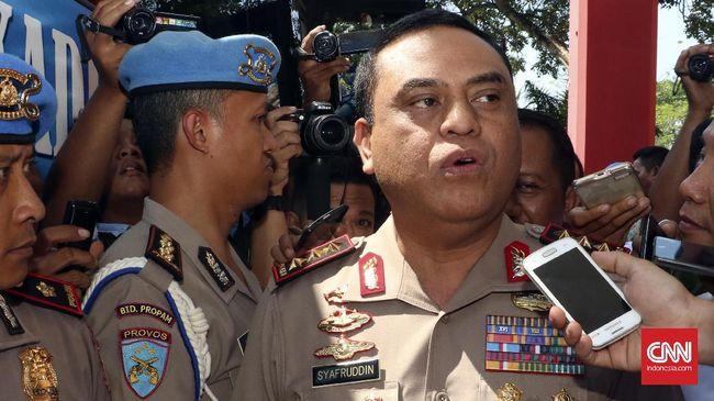Pimpinan Polri menganggap penembakan terhadap kader Gerindra oleh anggota Brimob merupakan tindakan bela diri karena dikeroyok sejumlah orang.