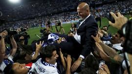FOTO: Akhir Puasa Gelar La Liga Real Madrid