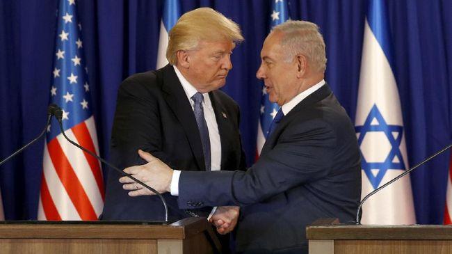 Presiden Trump mengirim utusan untuk meredakan ketegangan otoritas Israel dengan warga Palestina terkait pembatasan ibadah di Masjid Al-Aqsa.