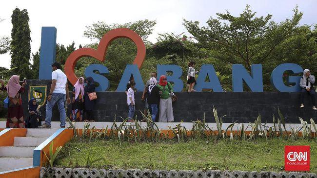 Wisatawan asing diimbau tidak berkunjung ke Sabang, Aceh, agar penyebaran virus corona (Covid -19) bisa dicegah.