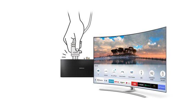 Neo QLED 8K TV dilengkapi dengan fitur Quantum Matrix Technology Pro dengan ukuran LED yang 40 kali lebih kecil dari LED konvensional.