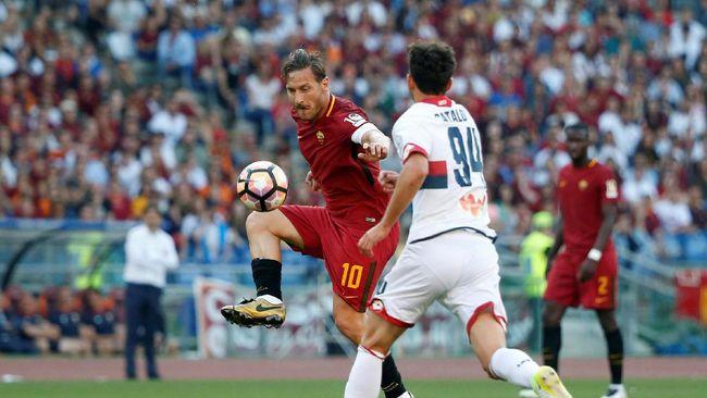 AS Roma sukses kalahkan Genoa 3-2 dan tetap di posisi kedua klasemen akhir Liga Italia Serie A, sekaligus menutup laga terakhir Francesco Totti dengan manis.