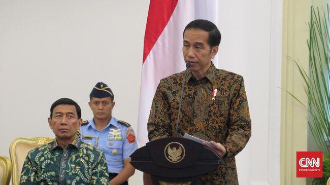 Penyebaran informasi yang tidak bertanggungjawab di media sosial, menurut Jokowi, bisa memengaruhi situasi ekonomi dan politik sebuah negara.