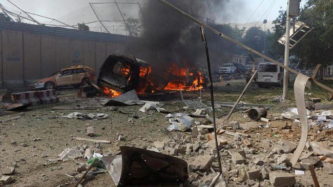 Bom Bunuh Diri di Kerumunan Demonstran Afghanistan, 32 Tewas