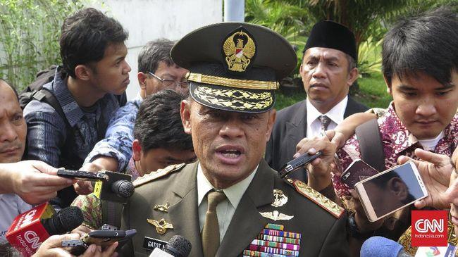 Jenderal Gatot Nurmantyo membenarkan rekaman suara dirinya soal rencana pembelian 5.000 senjata oleh institusi non militer.
