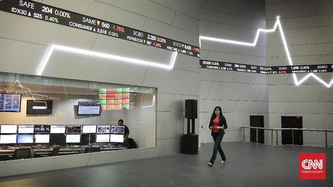 IHSG melemah 3,18 persen ke level 4.626 pada Rabu (8/4) sore terseret pelemahan 335 saham.