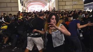 Ledakan Terjadi di Turin Saat 'Nobar' Juventus