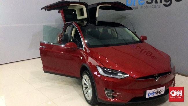 Tekan Pajak Tesla Model X Bisa Setengah Harga Di Indonesia