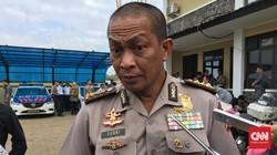 Tim Inafis Mabes Polri Olah TKP Bom Panci Bandung