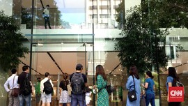 Kehangatan Khas Apple Store Pertama di Asia Tenggara